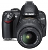 Nikon D3000 18-55VR Kit + SD 4Gb